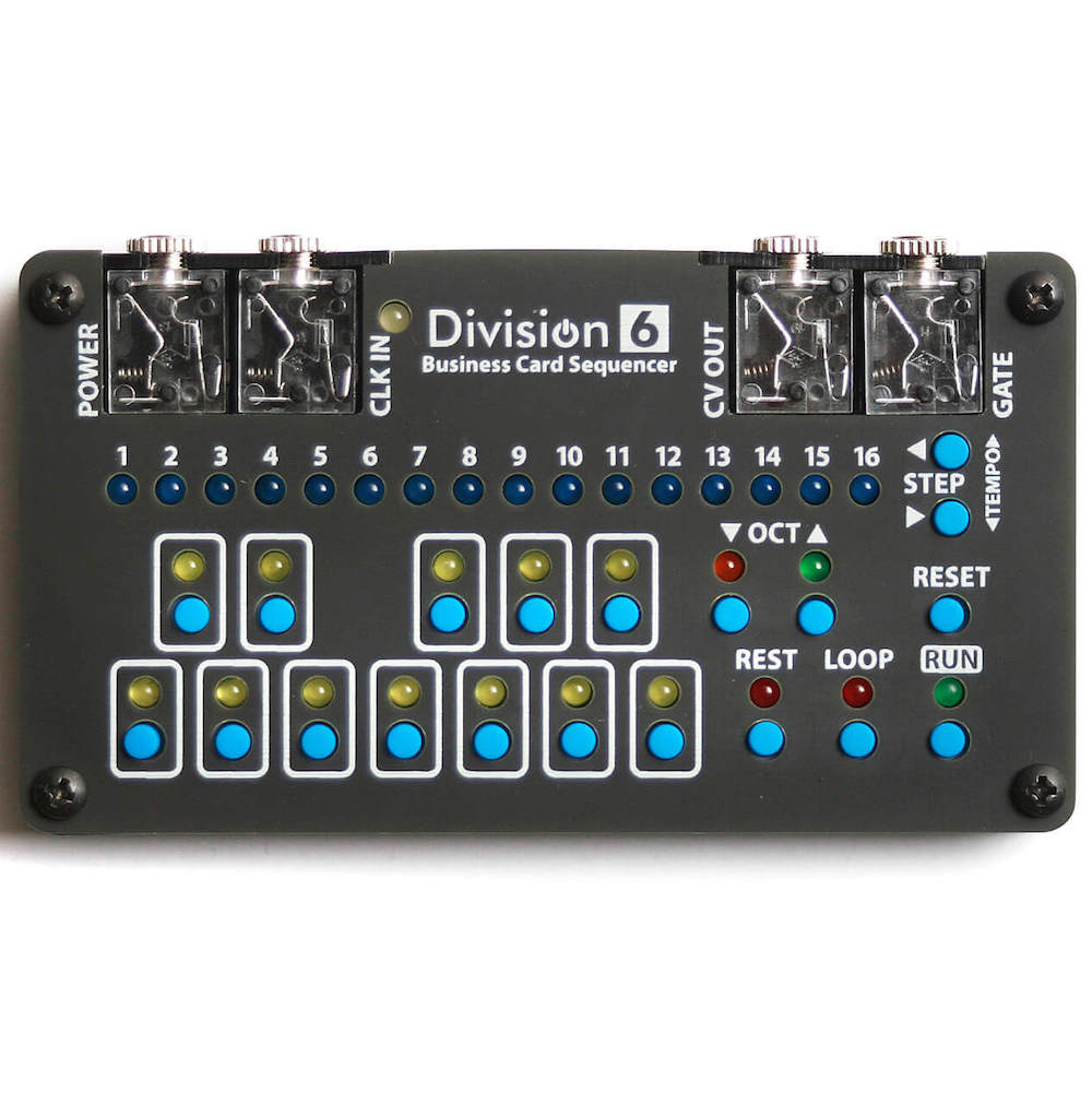 Division 6 business card sequencer pcb and ic colourmoves