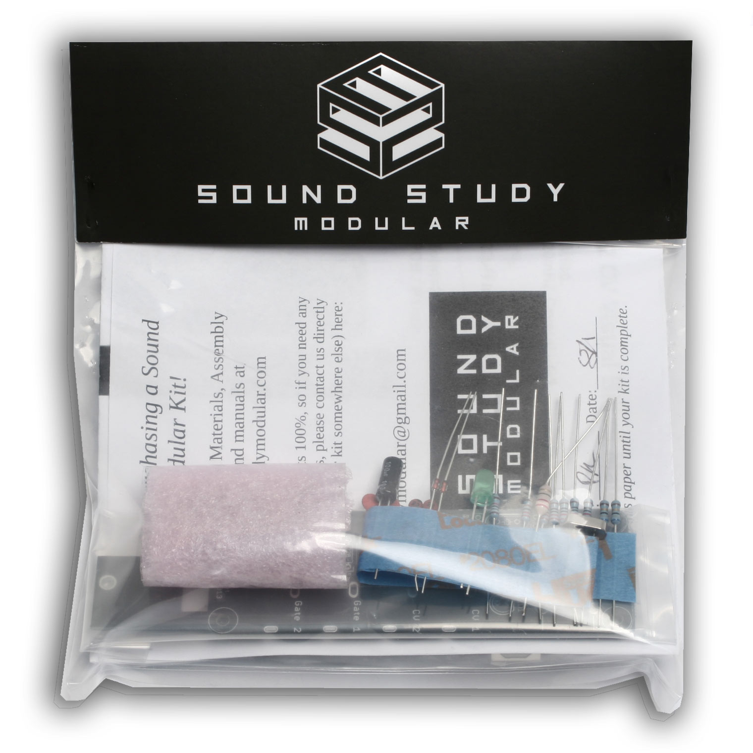 sound study midi 2 cv diy kit