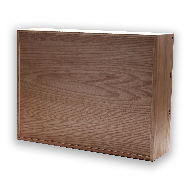 9u x 104hp powered modern wooden eurorack modular studio case