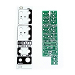 MST Stereo Output Mixer PCB and Panel