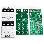 MST VCO - Voltage Controlled Oscillator PCB and Panel Combo