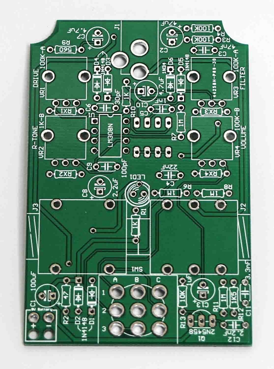 ratatak distortion pedal pcb. Black Bedroom Furniture Sets. Home Design Ideas