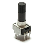 9mm Plastic Shaft Potentiometer - B100K