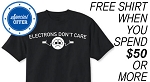 Electrons Don't Care Promo Tee