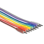 Hosa Multicolored 3.5mm Patch Cables 8pk