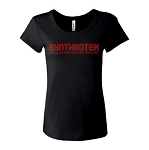 Synthrotek Modular Synthesizers Baby Doll Ladies Tee
