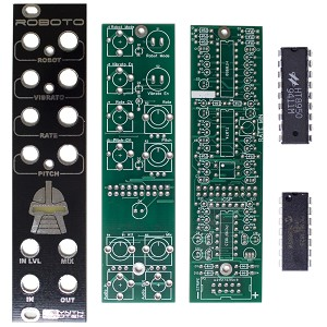 Synthrotek Roboto PCB and Panel Combo (ICs Included)