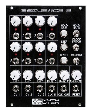 'Sequence 8' Analog 8-Step Sequencer