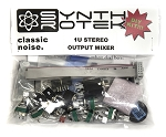 1U Stereo Output Mixer Kit