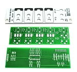MST 4-Channel Audio / CV Mixer PCB and Panel Combo