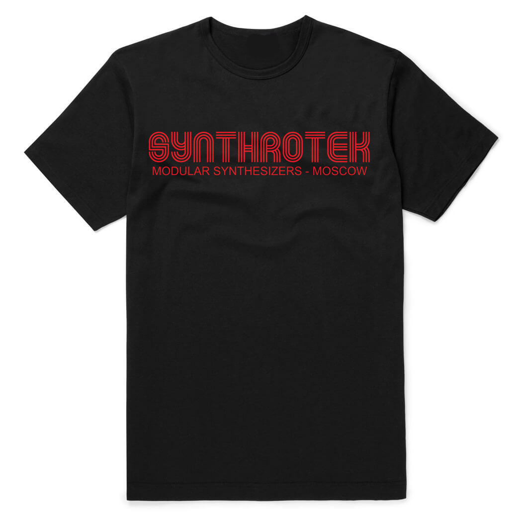 synthrotek modular synthesizers tee. Black Bedroom Furniture Sets. Home Design Ideas