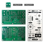Motomouth Formant Filter PCBs, Panel and ICs