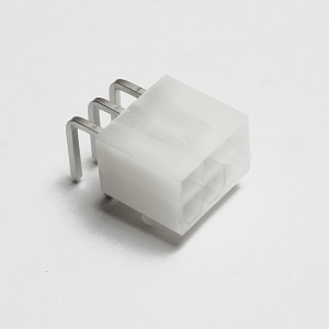 6-Pin Right-Angle Molex Connector - Female