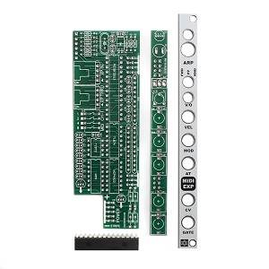 MST MIDI to CV Expander PCBs, Panel and IC