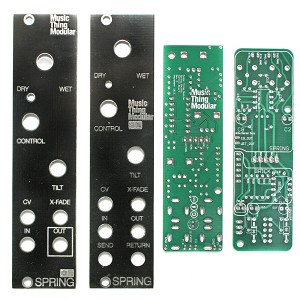 Spring Reverb PCB and Panel