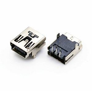 USB Connector - Right Angle Mini 'B' Style