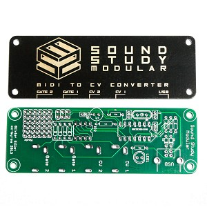 Sound Study MIDI 2 CV DIY PCB and Panel, Console Version