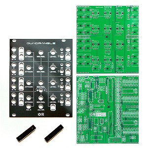 Quadrangle PCBs, Panel and ICs