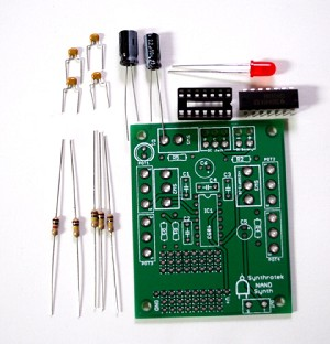 4093 NAND Barebones Synth Kit