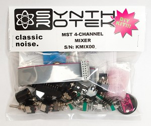 MST 4-Channel Audio / CV Mixer DIY Kit