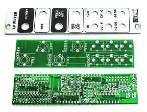 MST VC Low Pass Filter PCB and Panel Combo